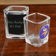 Personalized NFL Shot Glass