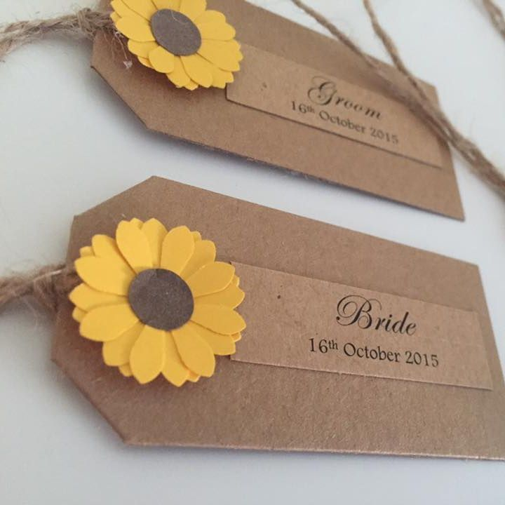 wedding place card tags