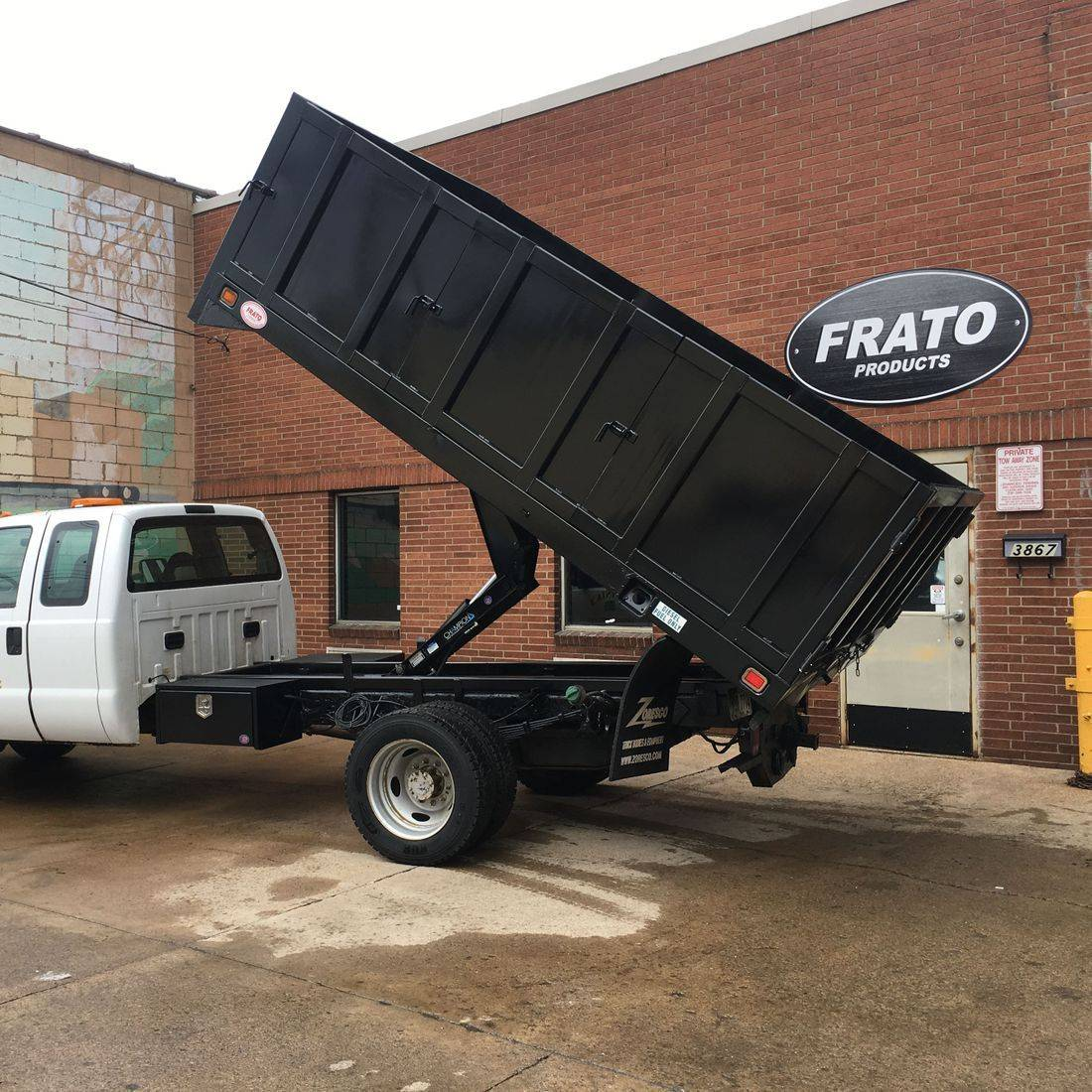 Frato Products - Hydraulic Flatbed Install
