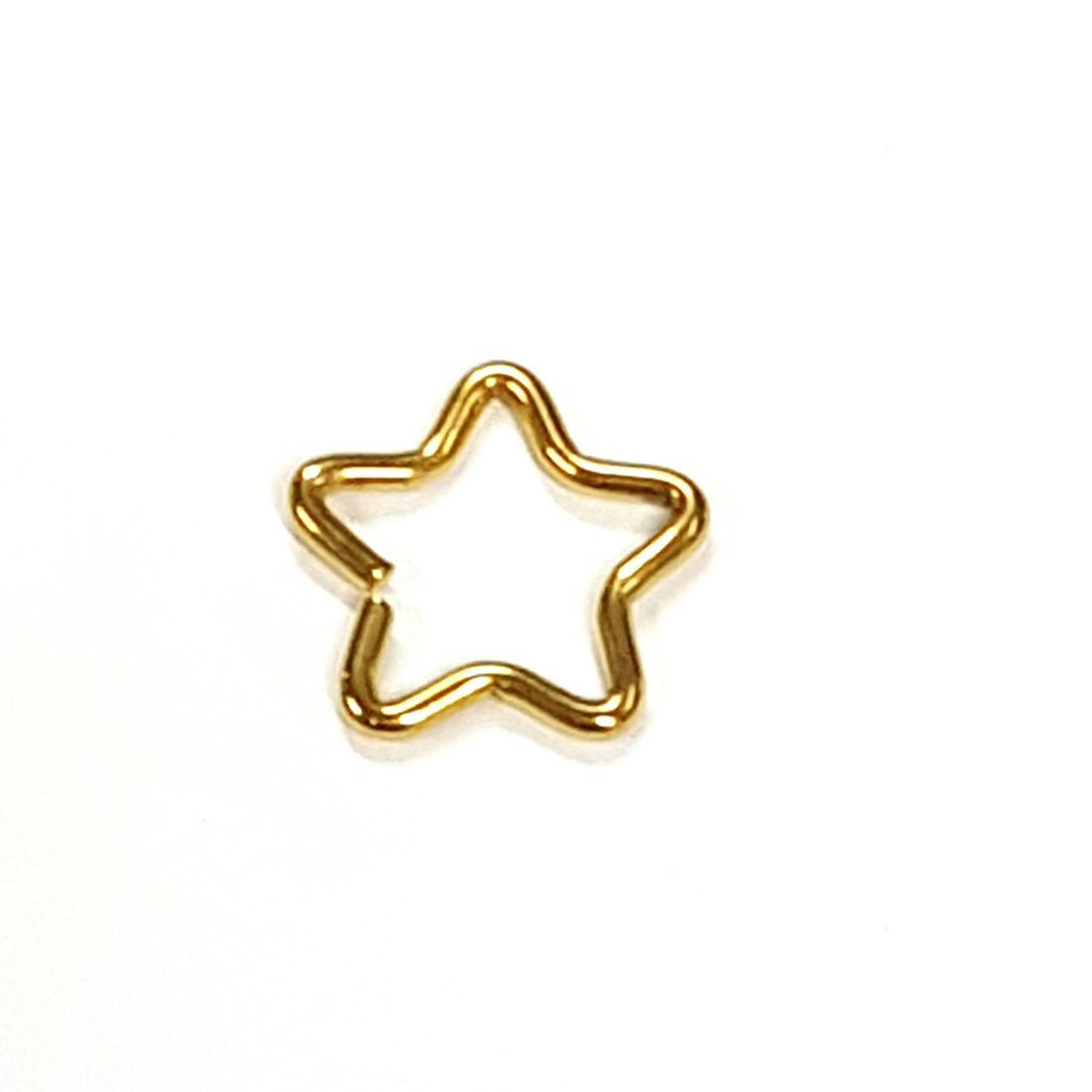 1.2mm x 8mm Gold Star   available at Kazbah online and our Leicester City Centre Shop
