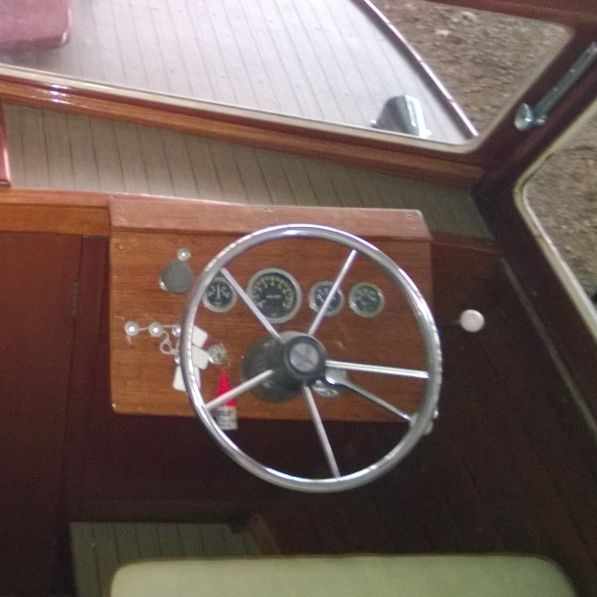 Wood boat for sale Lake Geneva