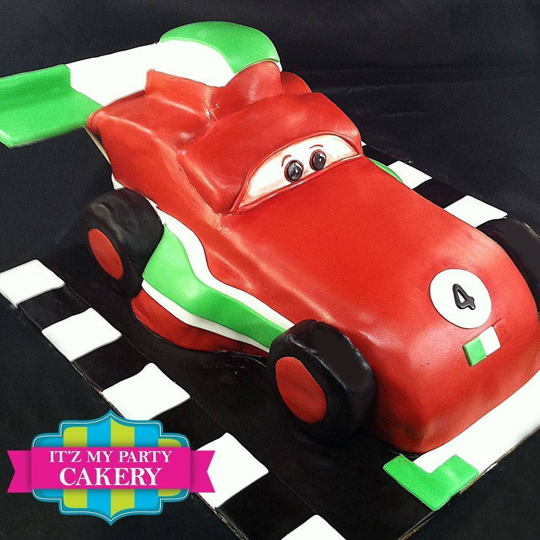 Red Sports Car Cake Carved Dimensional Cake Milwaukee