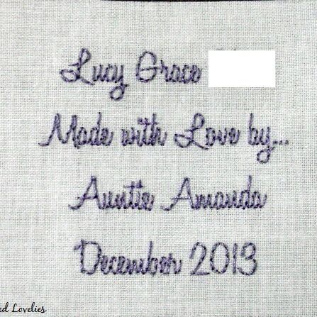 3x2 cotton quilt label