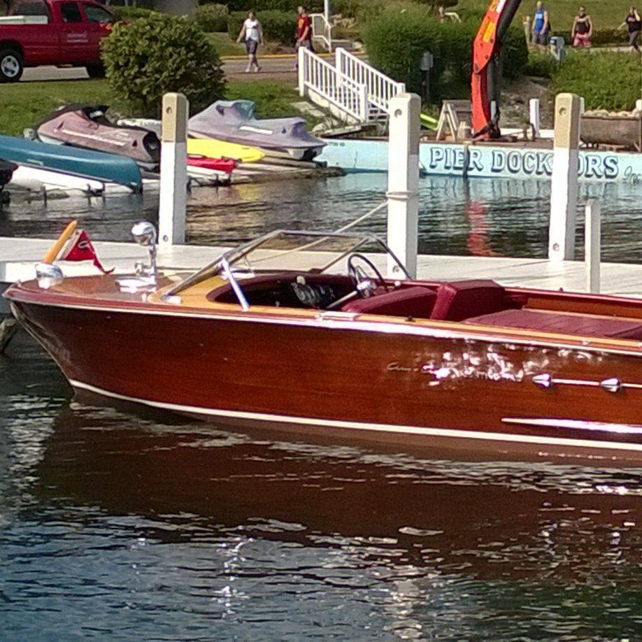 Chris Craft wood boat for sale at Bergersen Boat
