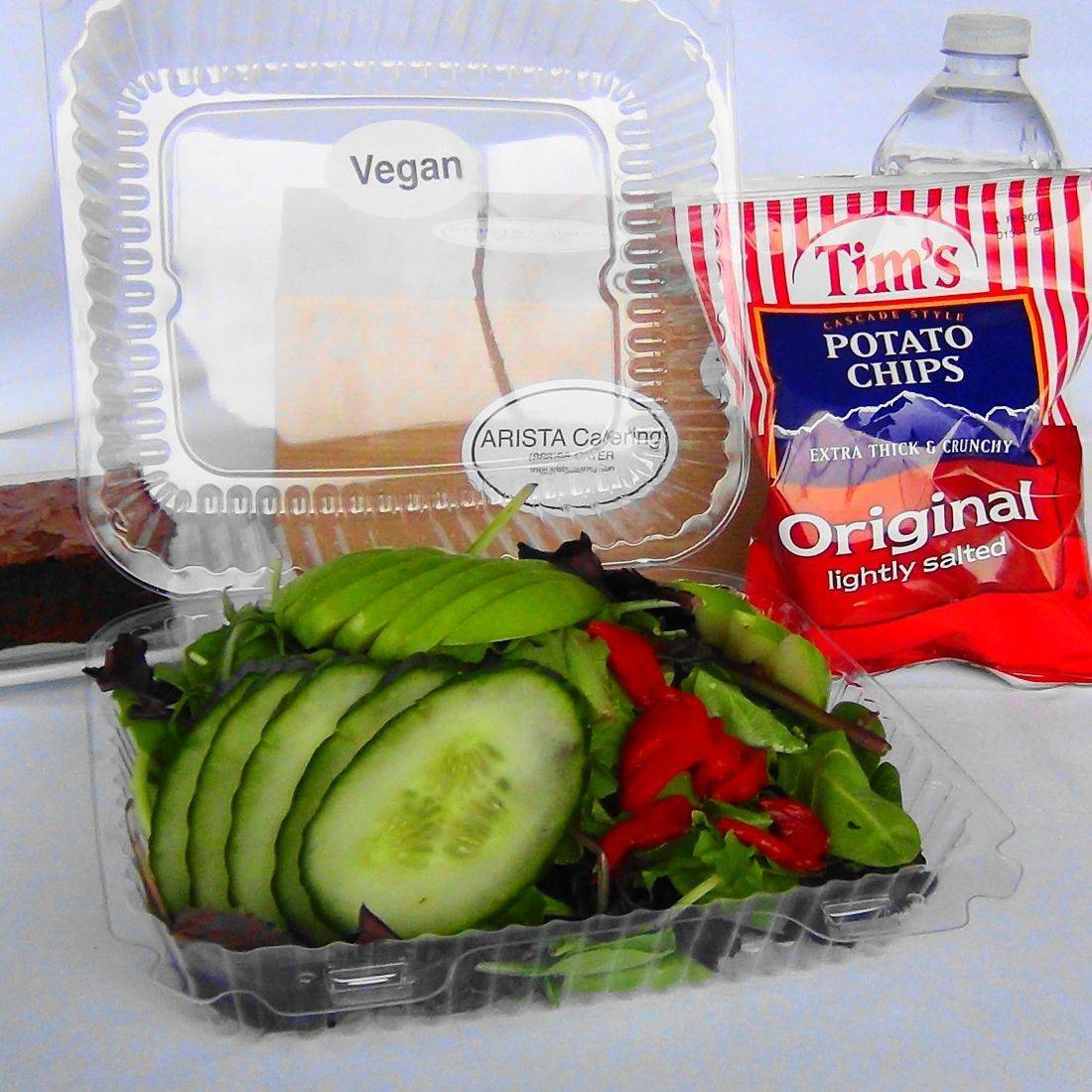 vegan box lunch