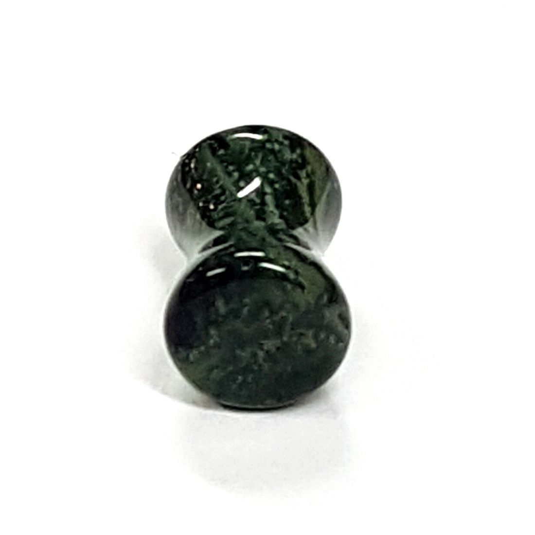 Black and Green Jasper plug  available at Kazbah online or our Leicester City Centre store