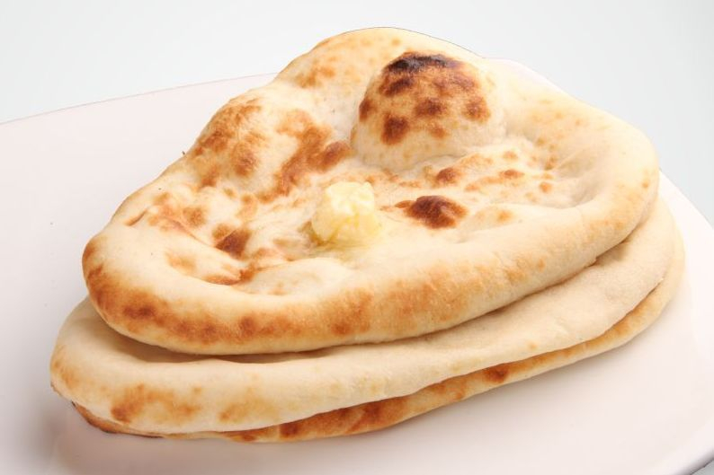 This is Arista's fresh naan