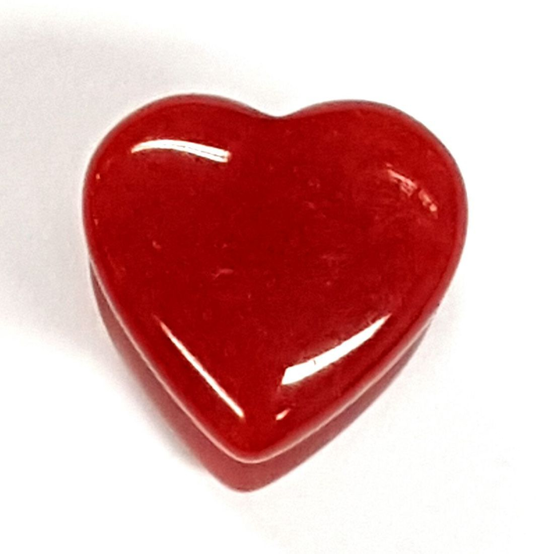 12mm heart stone plug  available at Kazbah online or our Leicester City Centre store