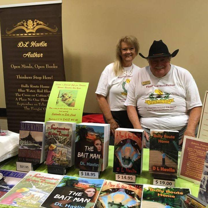 Author D.L. Havlin, Bait Man, books, series, bestseller, fiction, mystery, write