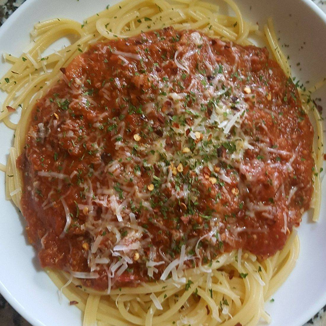 Spaghetti with Bologneses Sauce