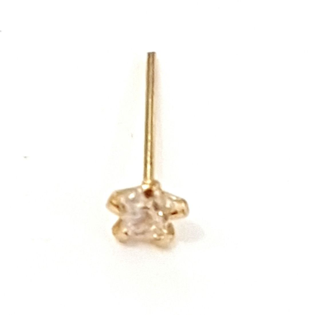 14ct gold star crystal nose stud available at Kazbah online and our Leicester City Centre Shop
