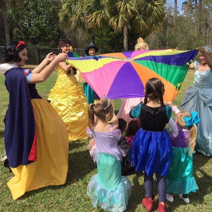 Snow White, Belle Sleeping Beauty, Cinderella Birthday Party Gulfport, MS.