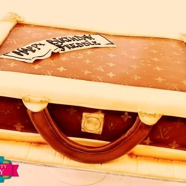 LV Briefcase Dimensional Cake Milwaukee