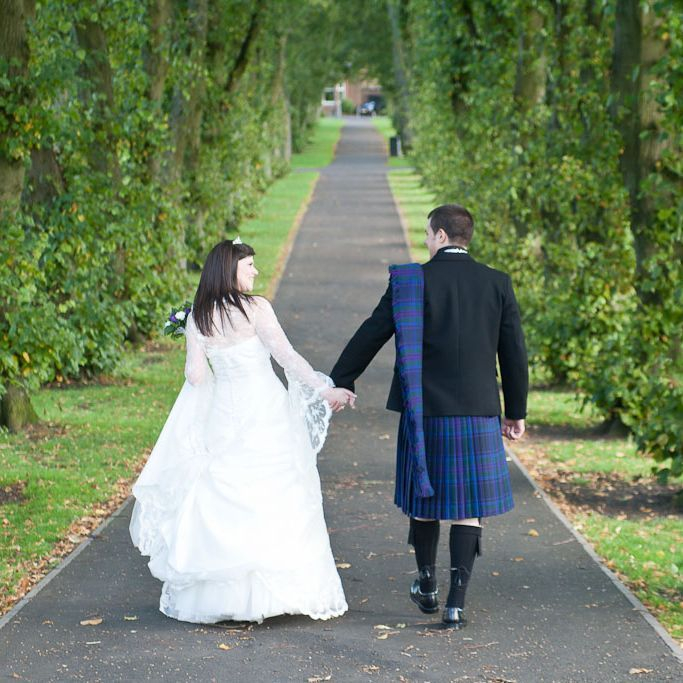 Paula and Peter, wedding in Kilmarnock
