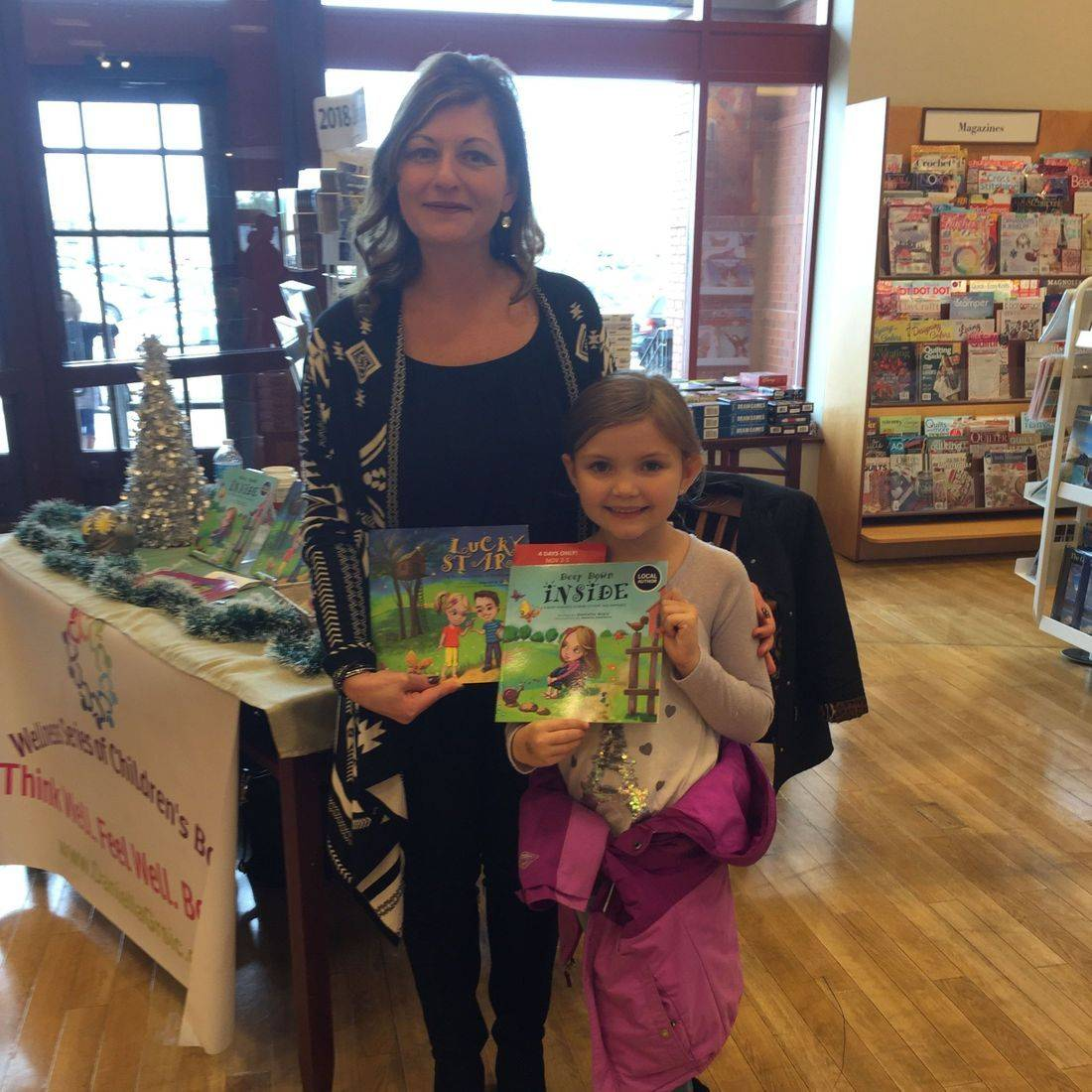 Chapters St. Catharines November 2017 Book Signing Event for Deep Down Inside and Lucky Stars with Author Daniella Grsic