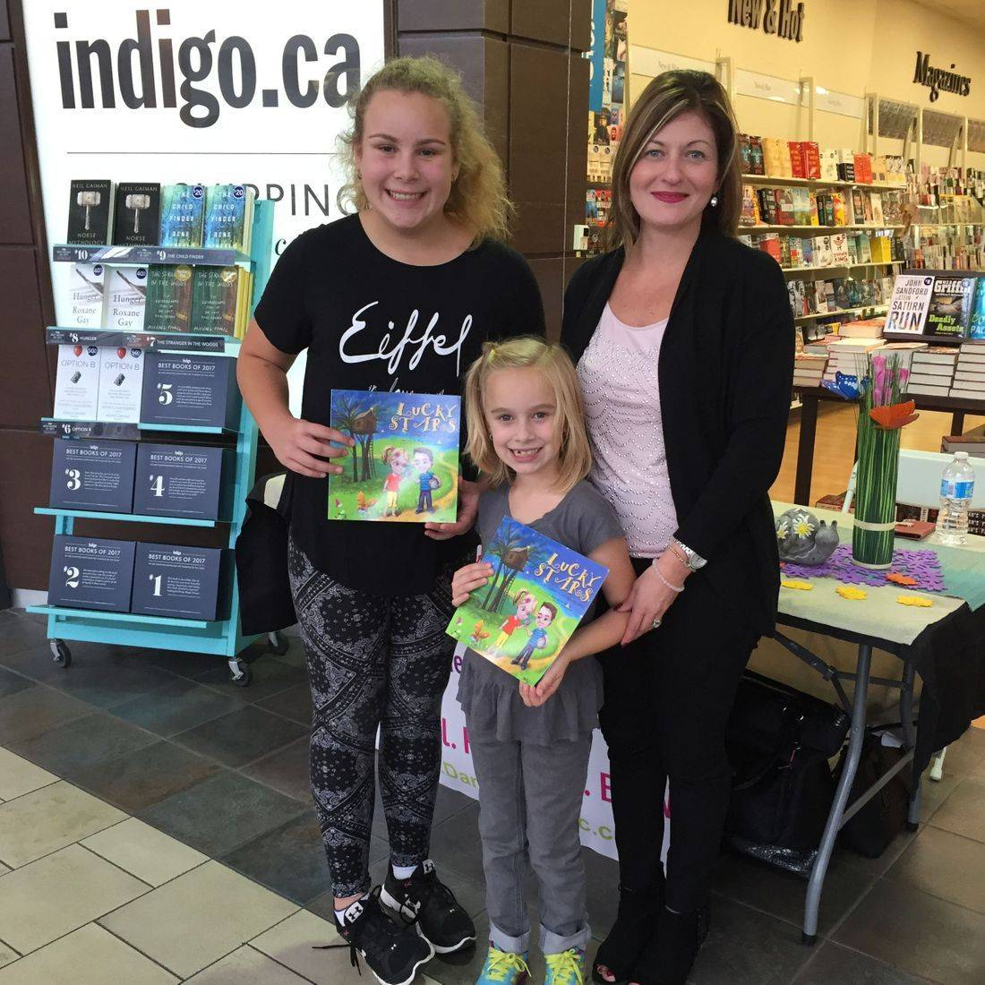Coles Limeridge Mall Hamilton New Location October 2017 Book Signing Event for Deep Down Inside and Lucky Stars with Author Daniella Grsic