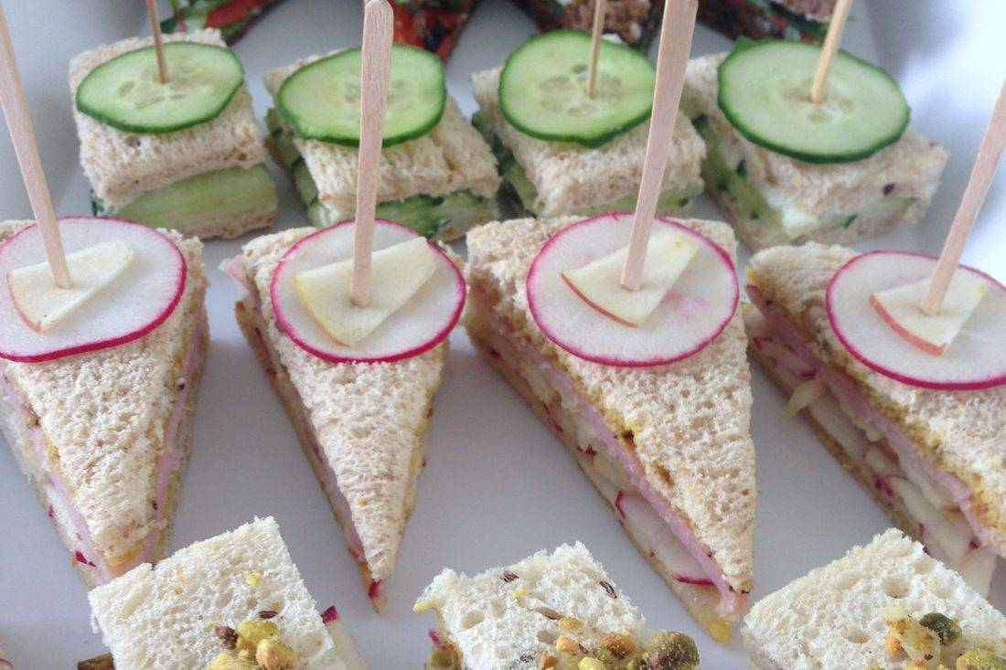 Tea Sandwiches Arista Caterers