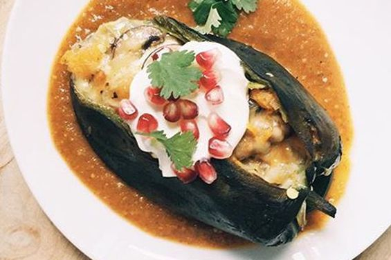 The Chile Relleno is delicious