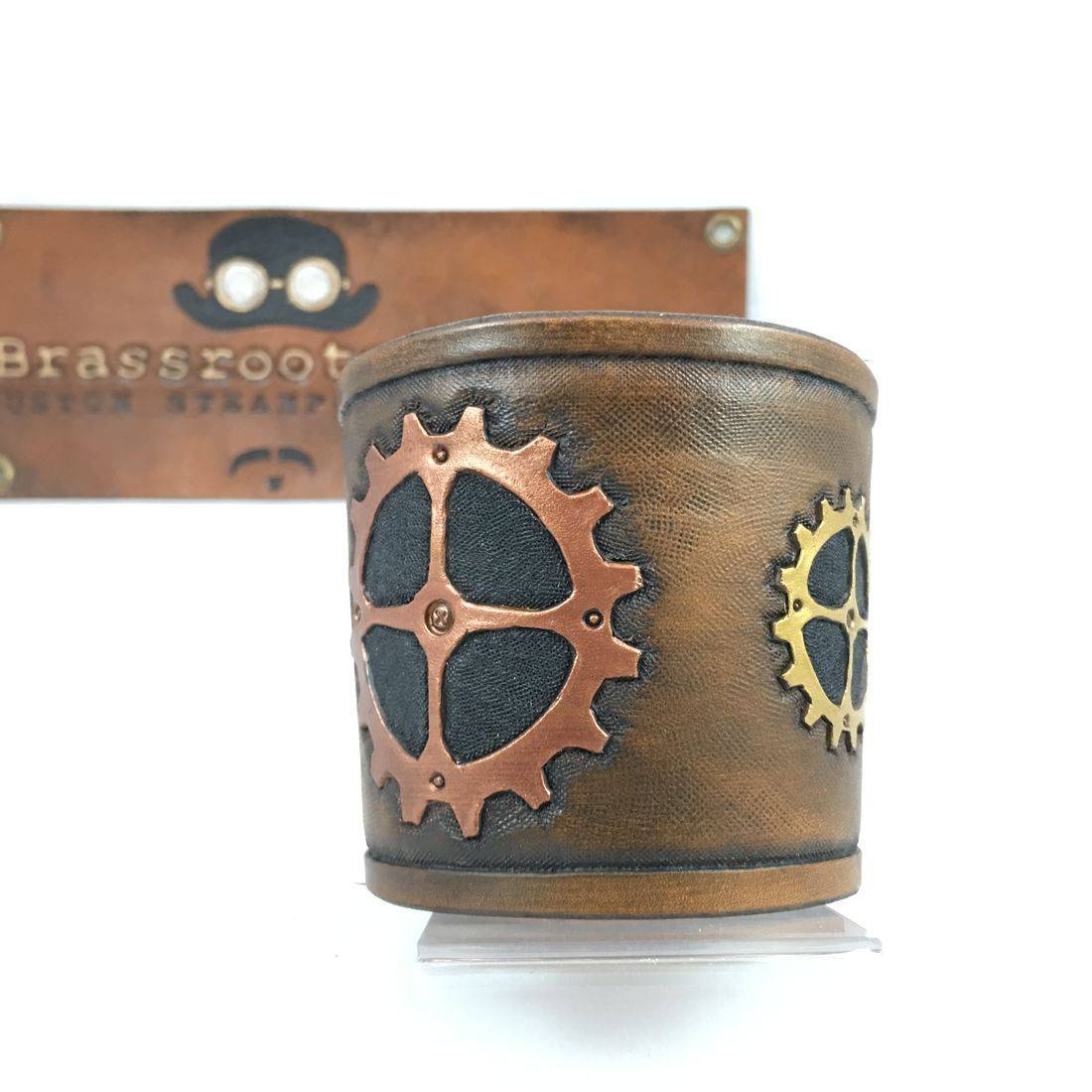 Coffee Cup Sleeve - Steampunk