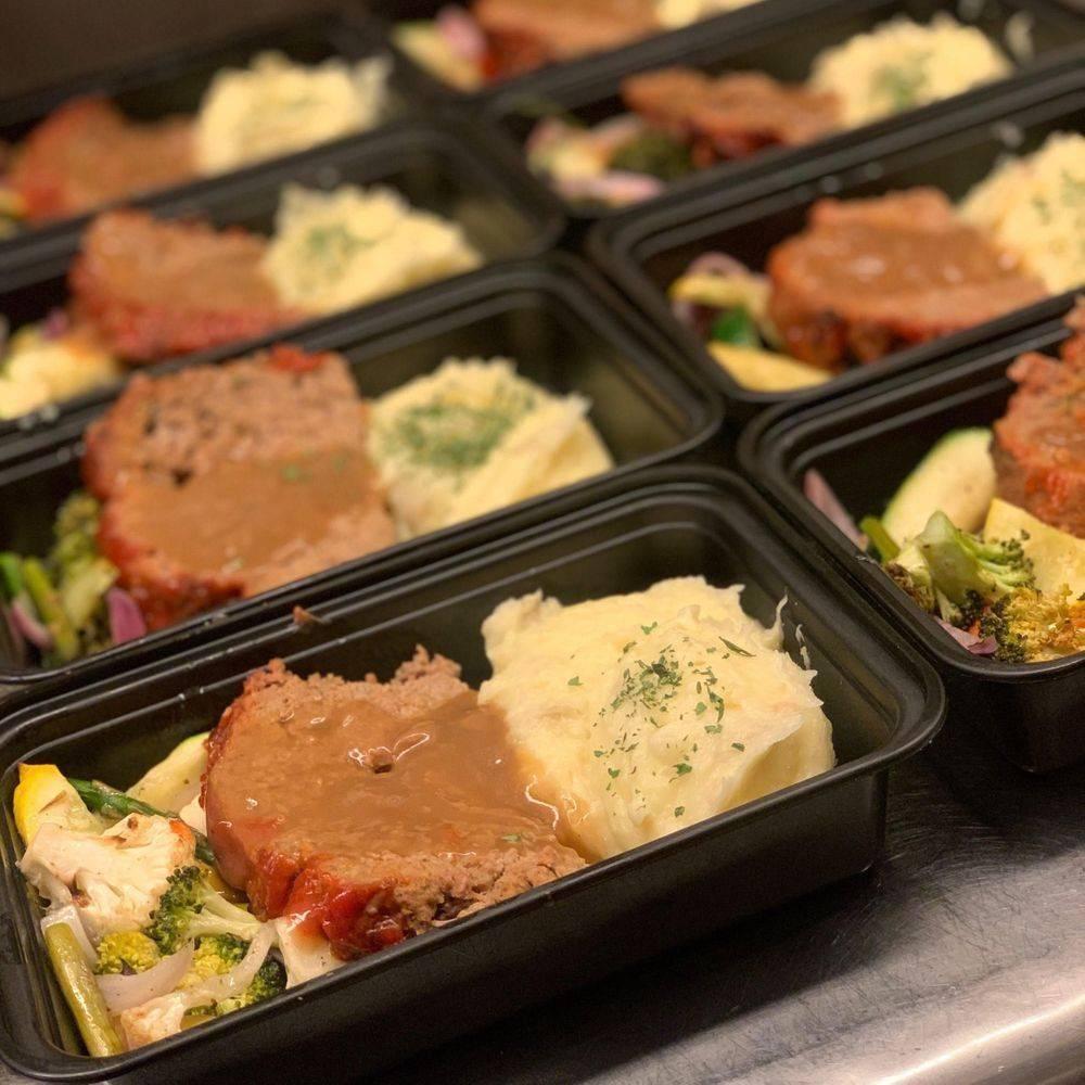 Meatloaf Box Meal