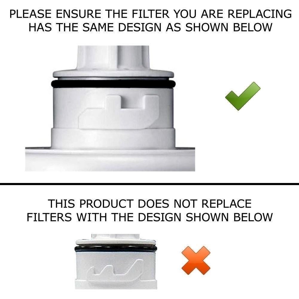 Samsung Aqua-Pure Plus DA29-00003F fridge water filter cartridges - locking key - sold at AAA FilterFast