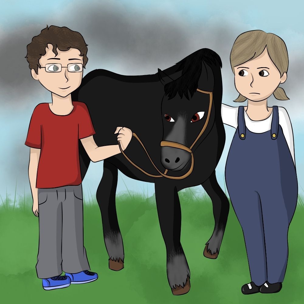 Ponytrekking, school, school trip, bullying, children's book, funny, horses, children
