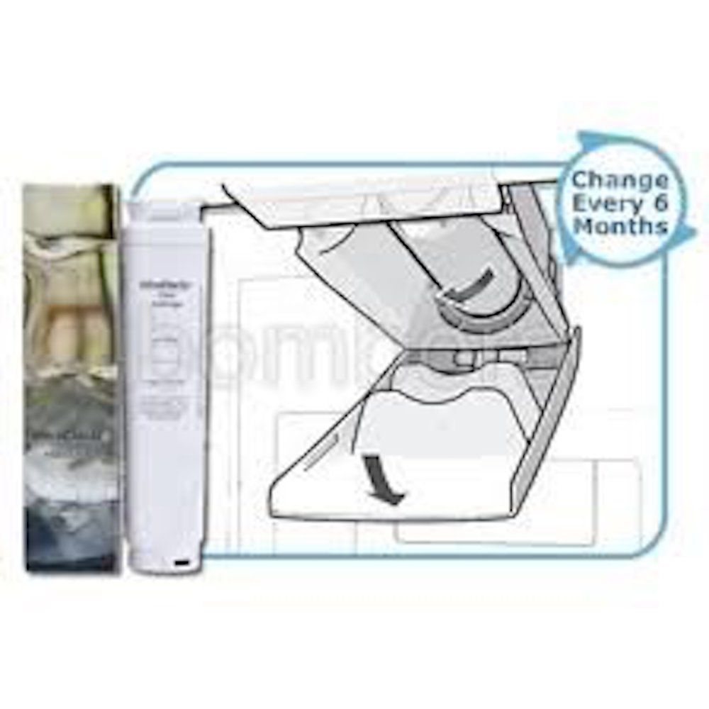 UltraClarity - Bosch - 740560 - 11028820 - replacement refrigerator fridge ice water filter cartridges - stocked and sold at www.aaafilterfast.co.uk