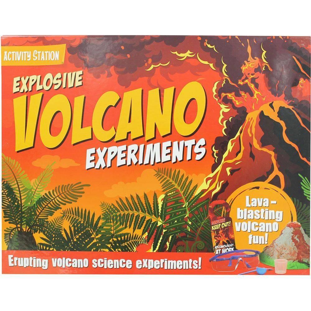 Explosive Volcano Experiements