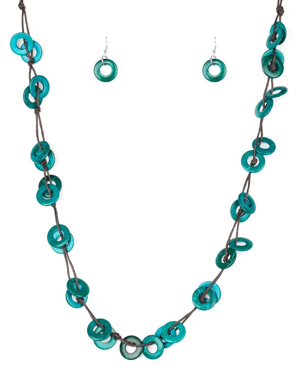 Paparazzi Waikiki blue necklace