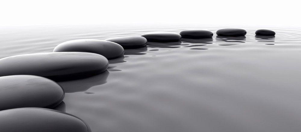 Mindfulness. Calm. Serene.