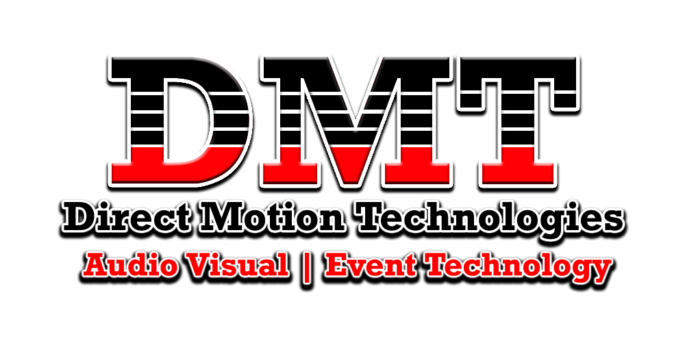 San Antonio Audio Visual Company, Direct Motion Technologies, Equipment Rentals, Virtual Events,