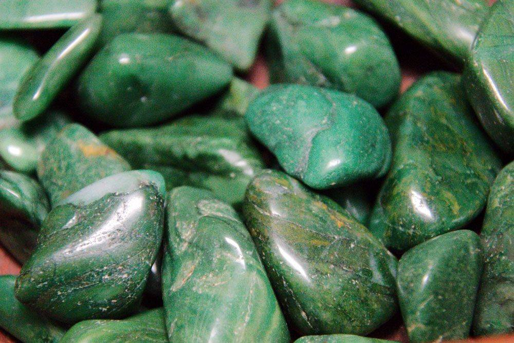 Buddstone or South African JadeTumbled Stone