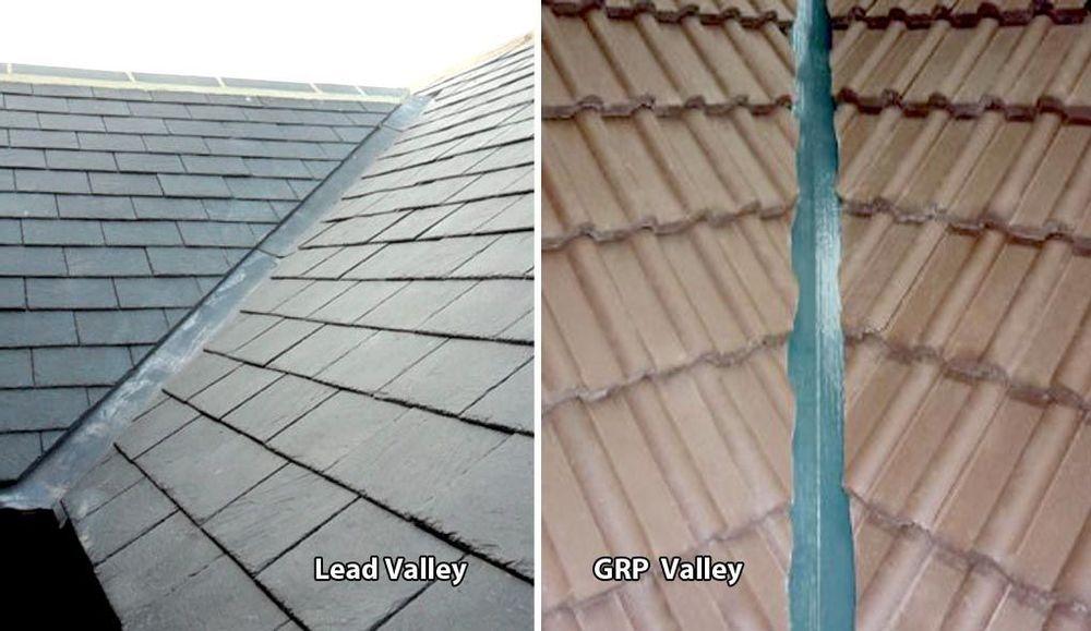 Roof valleys
