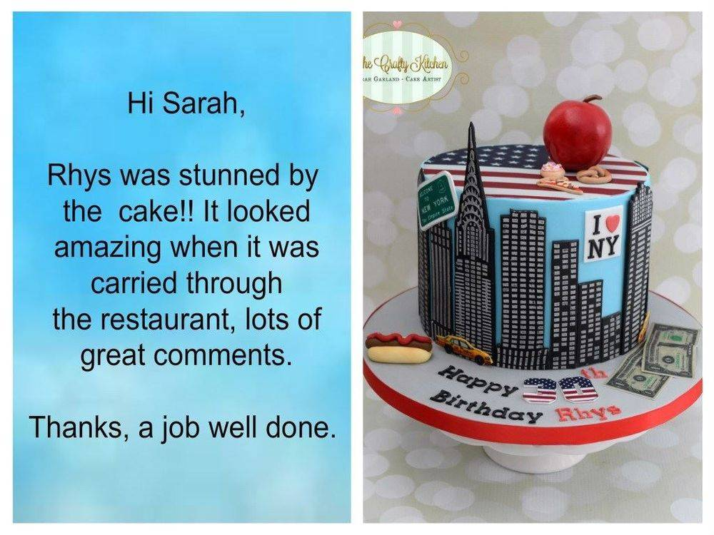 Birthday Cake Review
