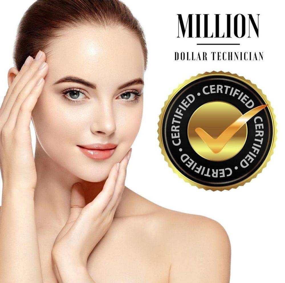Million Dollar facial, certified technician, dermaplane, micro needling