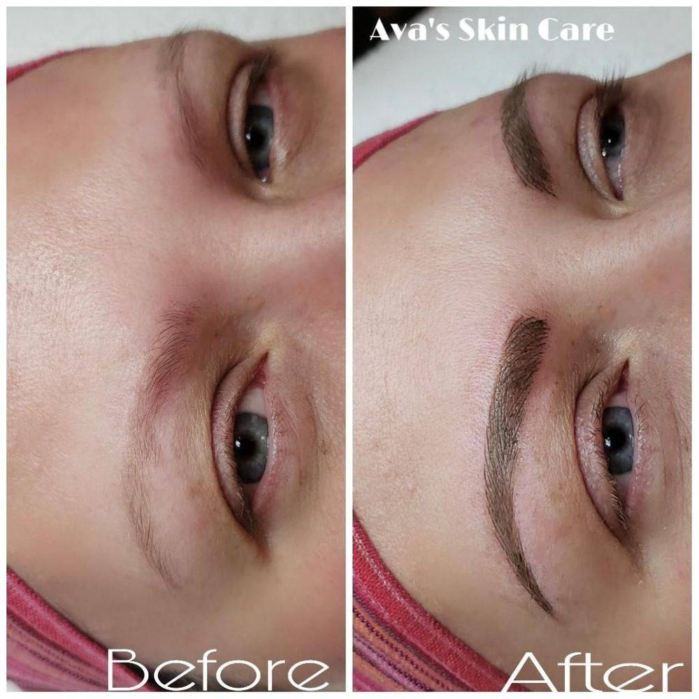 Microblading Eyebrows By Ava