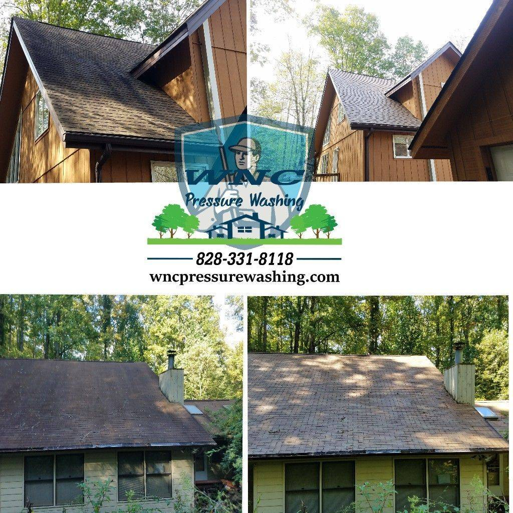 Canceled Insurance for dirty roof? Call WNC Roof Cleaning. WNC Pressure Washing, pressure washing, pressure washing waynesville, pressure washing asheville, roof cleaning, soft washing