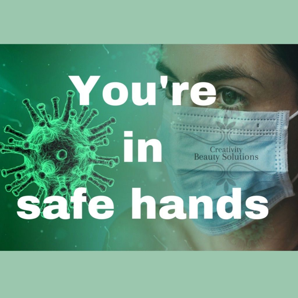 Safe hands, covid update, salon, opening,