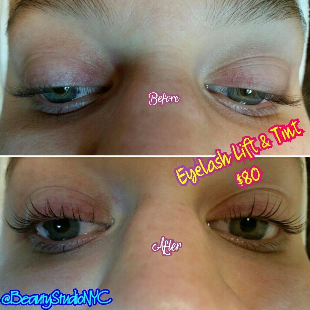 Eyelash Lift Eyelash Tint