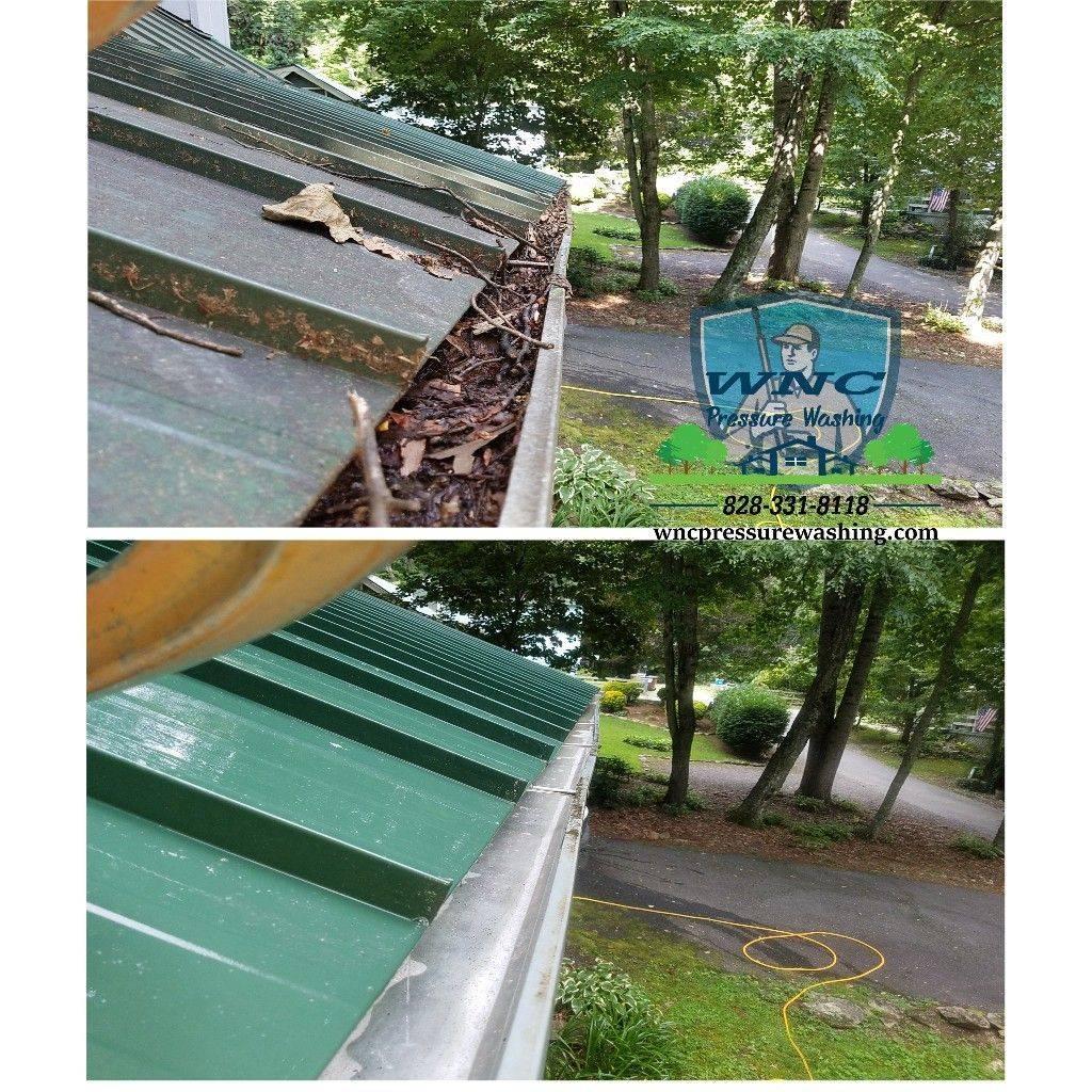 Waynesville gutter cleaning