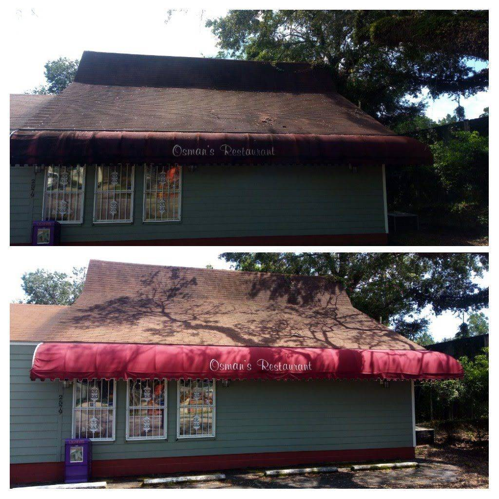 Pressure Washing and Soft Washing Roof Cleaning