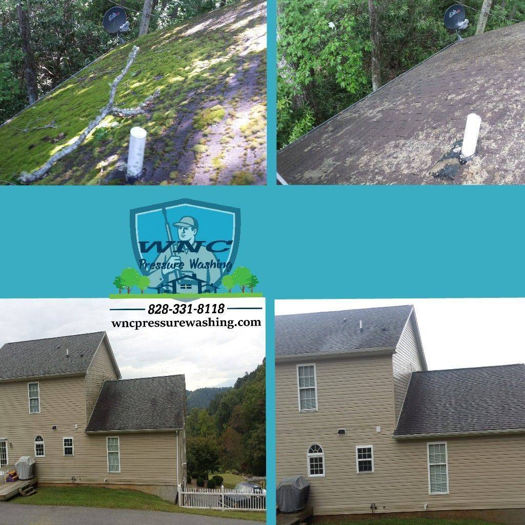 WNC Roof Cleaning In Cashiers NC,WNC Pressure Washing, pressure washing, pressure washing waynesville, pressure washing asheville, roof cleaning, soft washing