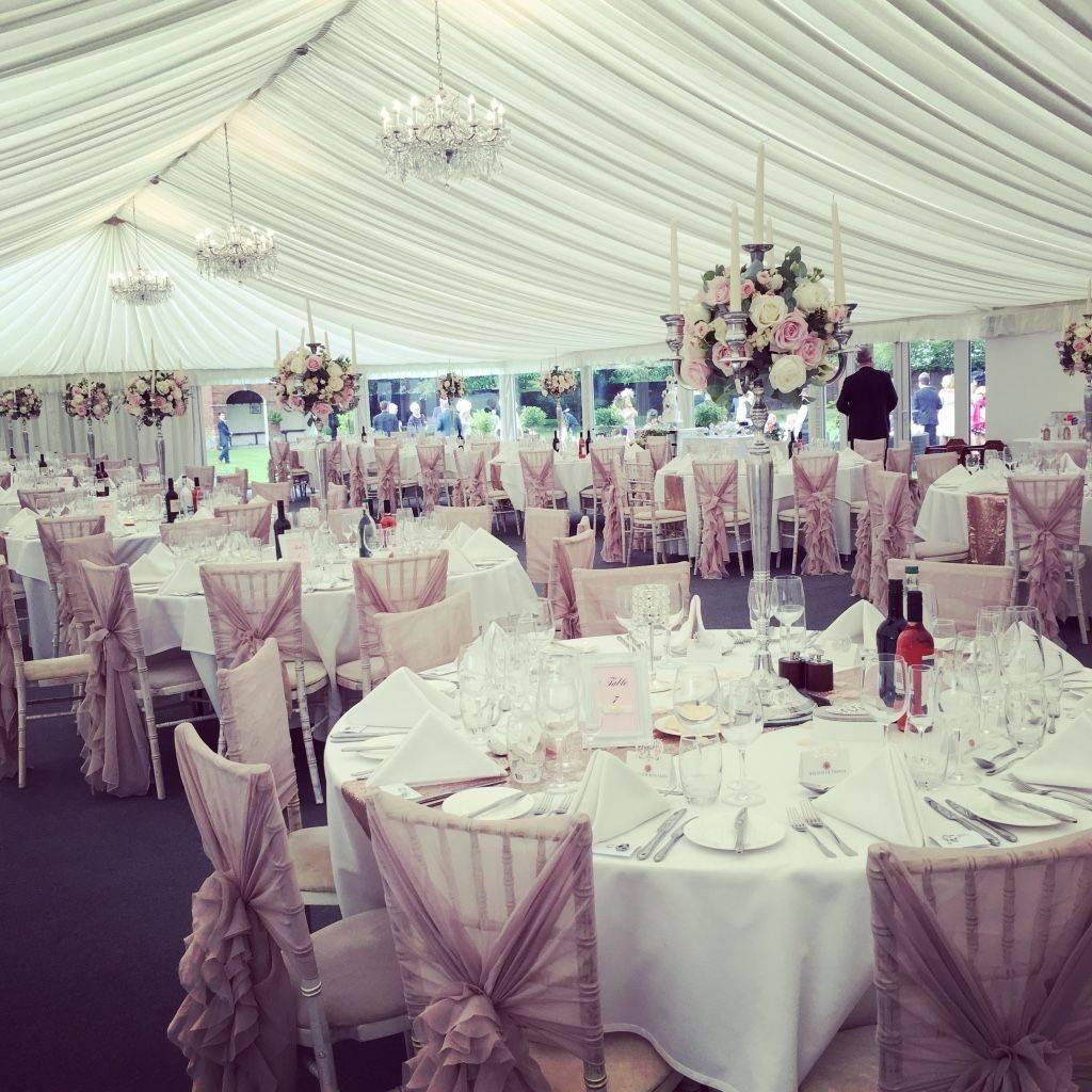 Garden Pavilion Stanbrook Abbey, Wedding Florist and stylist