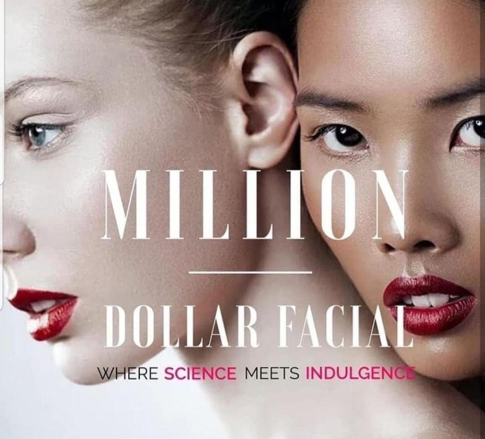 Million Dollar Facial, dermaplane, skin needling, micro needling