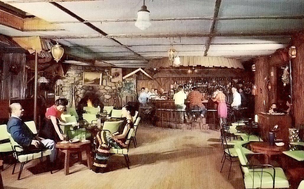 Haunted Brookdale Lodge, haunted hotel, ghosts, bar, brookroom