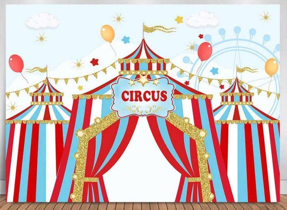 Circus Carnival Party Backdrop