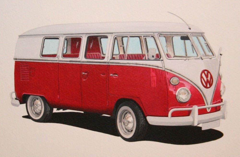 VW Deluxe (Acrylic) : Commission (UK)