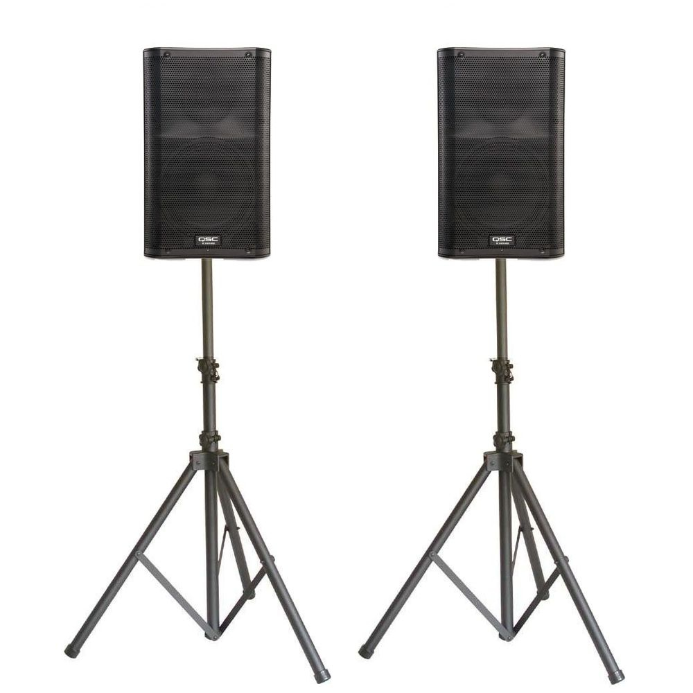 Small powered full range sound system for rent