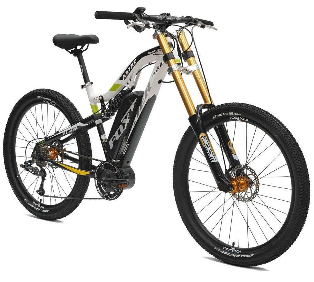 Ebike Downhill full suspended AQL Samsung pedalata assistita