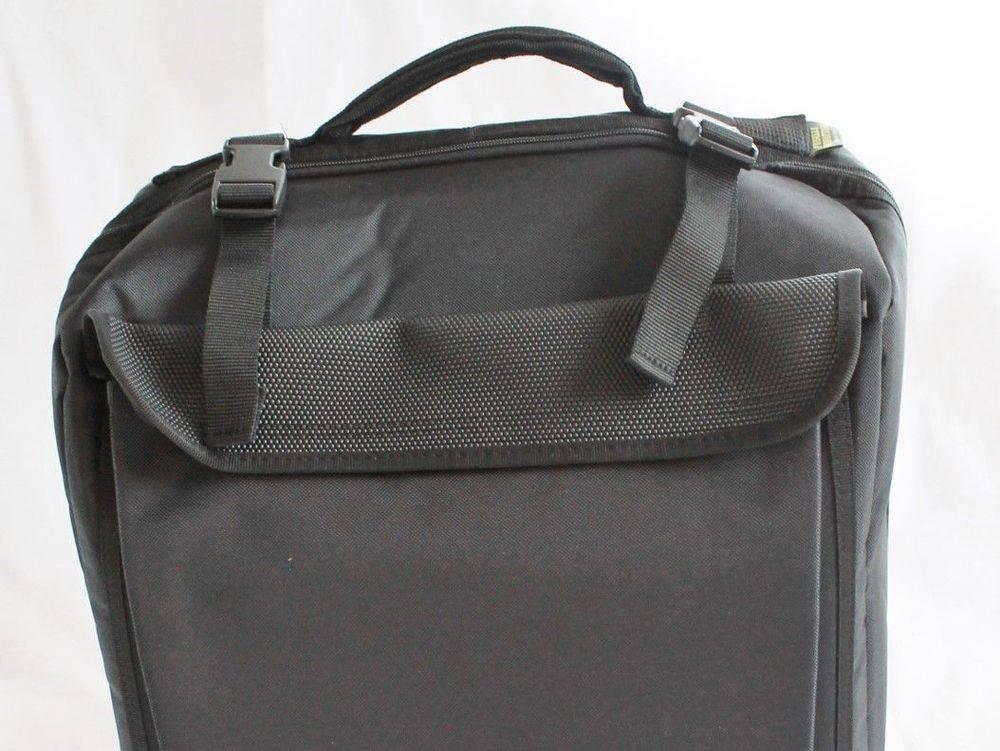 Standard small melodeon bag - black